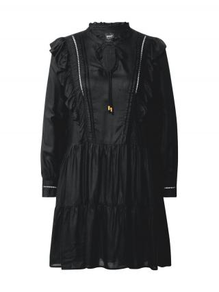 ONLY Košeľové šaty Rwanda  čierna dámské 34
