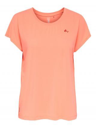 ONLY PLAY Funkčné tričko  koralová / tmavooranžová dámské XS