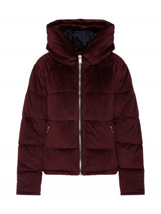 ONLY Zimná bunda  vínovo červená dámské XL