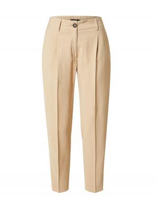 OPUS Plisované nohavice Maro ST  svetlobéžová dámské 36