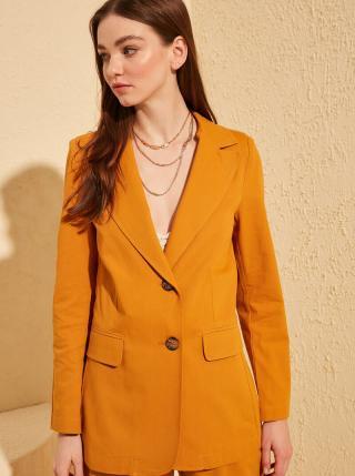 Oranžové sako Trendyol dámské oranžová S