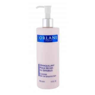 Orlane Cleansing Milk Dry Or Sensitive Skin 400 ml čistiace mlieko pre ženy na zmiešanú pleť; na citlivú a podráždenú pleť dámské 400 ml
