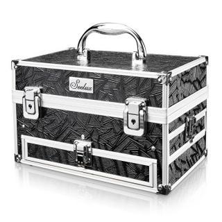 Ostatní Kozmetický kufrík čierny malý dámské