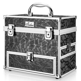 Ostatní Kozmetický kufrík čierny veľký dámské