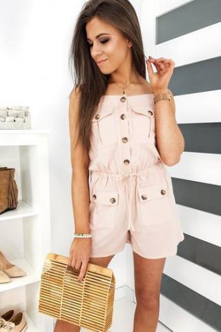 Overalls SERGIO pink EY1168 dámské Neurčeno One size