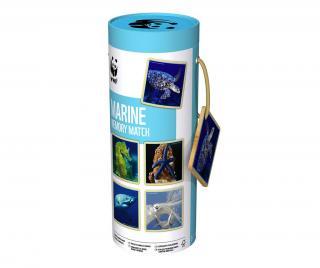 Pamäťová hra Marine Matching Modrá