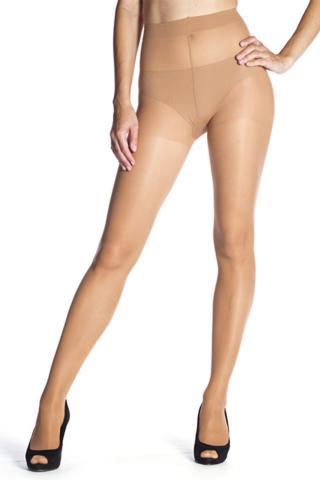 Pančuchové nohavice Bellinda FIT IN FORM 40 DEN amber dámské 52