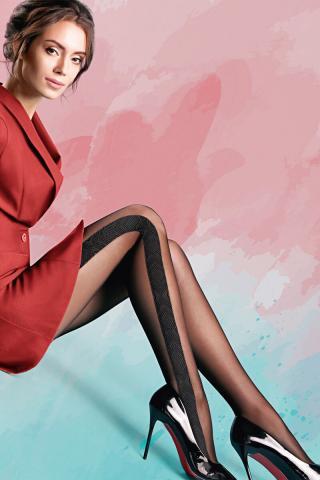 Pančuchové nohavice Milena 20 DEN dámské ČIERNA S