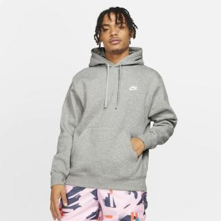 Pánska mikina Nike Sportswear Club Fleece pánské šedá XS