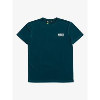 Pánske funkčné tričko Quiksilver ARID ROCKS pánské modrá | biela L