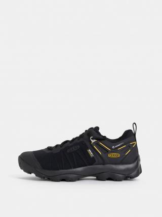 Pánske outdoorové topánky Keen VENTURE WP M pánské čierná 42.5
