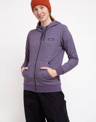 Patagonia Ws P-6 Label French Terry Full-Zip Hoody Piton Purple XS dámské Fialová XS