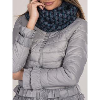 Patterned turquoise women´s scarf dámské Neurčeno One size