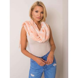 Peach viscose scarf dámské Neurčeno One size