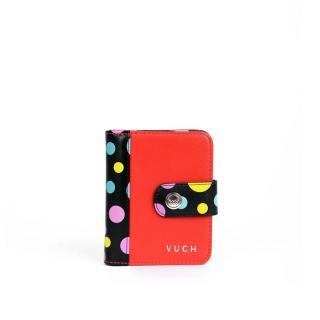 Peňaženka dámska VUCH Black Dots Collection dámské čierna | červená One size
