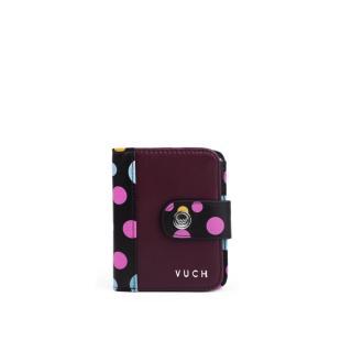 Peňaženka dámska VUCH Black Dots Collection pánské hnedá One size