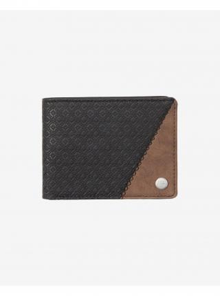 Peňaženky pre mužov Quiksilver - čierna, hnedá pánské