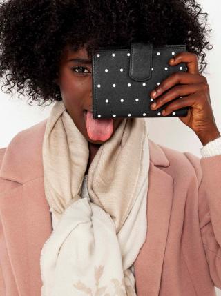 Peňaženky pre ženy CAMAIEU - čierna dámské