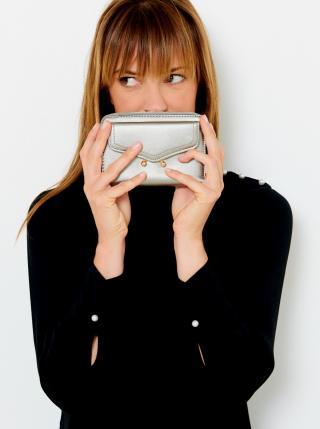 Peňaženky pre ženy CAMAIEU - strieborná dámské