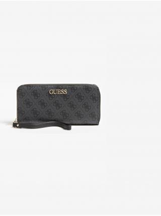 Peňaženky pre ženy Guess - čierna, sivá dámské