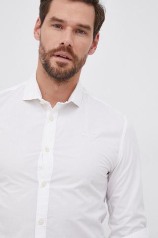 Pepe Jeans - Bavlnená košeľa Tim pánské biela S