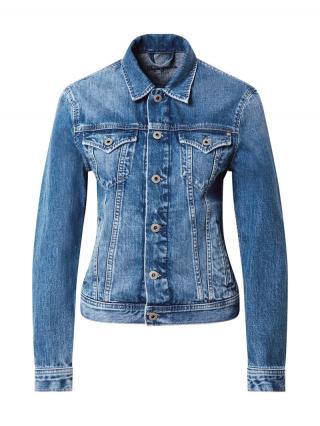 Pepe Jeans Prechodná bunda Rose  modrá denim dámské L