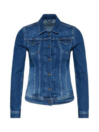 Pepe Jeans Prechodná bunda Thrift  modrá denim dámské M