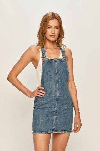 Pepe Jeans - Rifľové šaty Vesta dámské modrá S