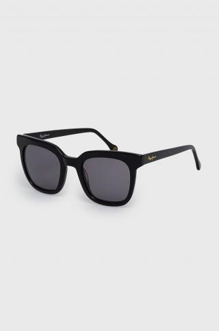 Pepe Jeans - Slnečné okuliare Maxi Squred dámské čierna ONE SIZE