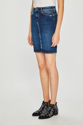 Pepe Jeans - Sukňa Taylor dámské modrá XS