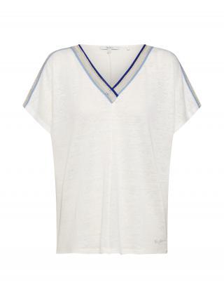 Pepe Jeans Tričko Antonia  zmiešané farby / biela dámské M
