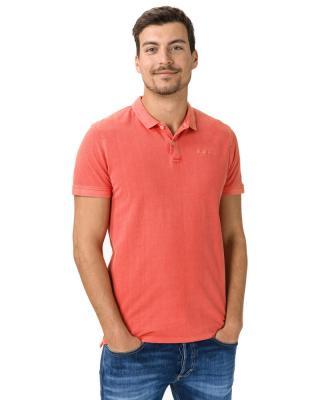 Pepe Jeans Vincent Polo tričko Červená Oranžová pánské S