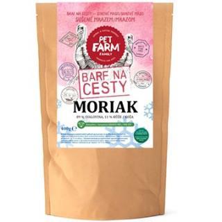 Pet Farm Family Moriak - Barf na cesty 400 g