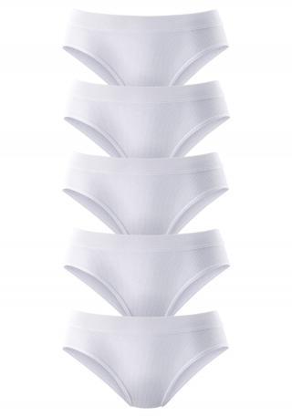 PETITE FLEUR Nohavičky  biela dámské XXL-XXXL