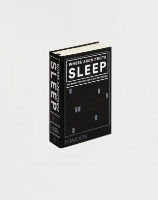 Phaidon Where Architects Sleep neuvedená