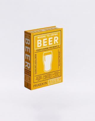 Phaidon Where to Drink Beer Žltá
