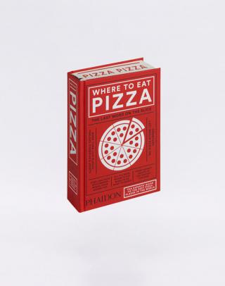 Phaidon Where to Eat Pizza Červená