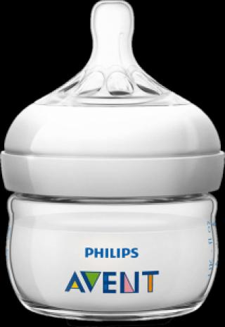 Philips AVENT Dojčenská fľaša Natural 60 ml (PP), 1 ks