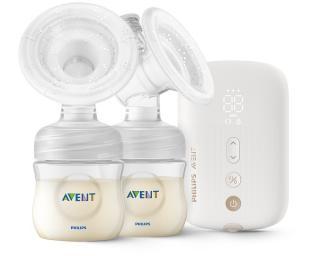 PHILIPS AVENT Odsávačka materskeho mlieka elektrická Duo nabíjacia SCF398