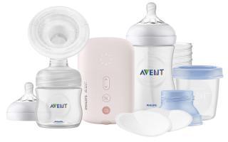 PHILIPS AVENT Odsávačka materskeho mlieka elektrická sada na podporu dojčenia