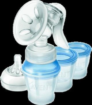 Philips AVENT Odsávačka materského mlieka Natural s VIA systémom modrá