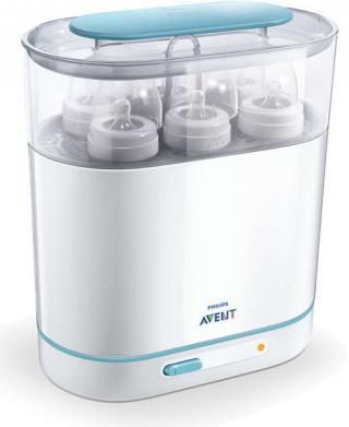Philips AVENT Sterilizátor parný elektrický 3 v 1 biela