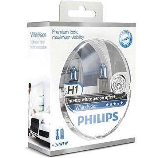 PHILIPS H1 WhiteVision 2 ks