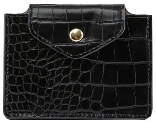 Pieces Dámska peňaženka na karty PCFERI WALLET D2D Black dámské