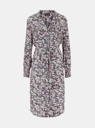 Pieces sivé košeľové šaty - XS dámské sivá XS