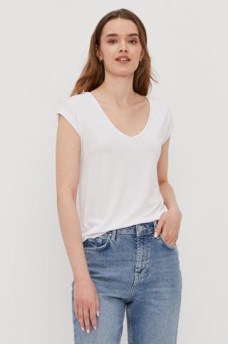 Pieces - Tričko dámské biela XS