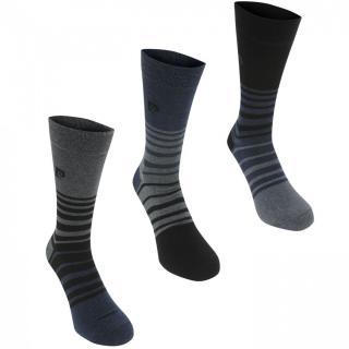 Pierre Cardin 3 Pack Fashion Socks Mens pánské Other One size
