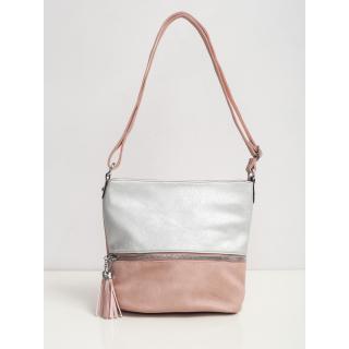 Pink and silver shoulder bag dámské Neurčeno One size