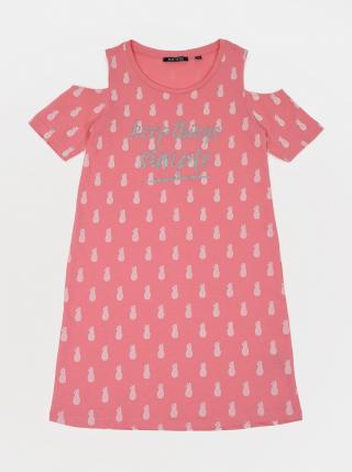 Pink Girl Patterned Dress Blue Seven dámské růžová 140