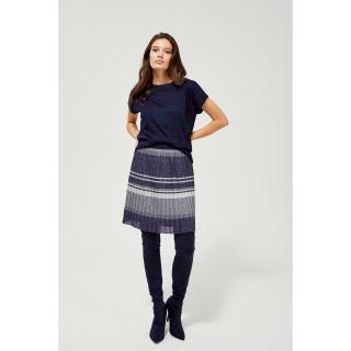 Pleated skirt with stripes dámské Other XS